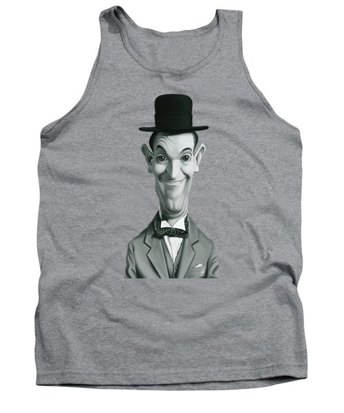 Celebrity Sunday - Stan Laurel Tank Top by Rob Snow