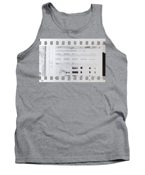 Tank Top featuring the photograph Celluloid Film by Michal Boubin