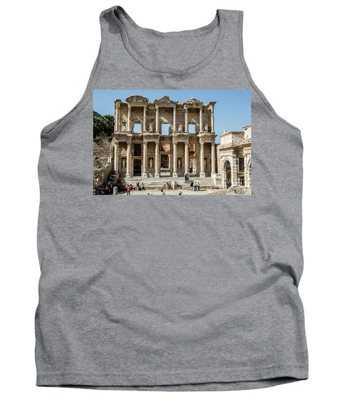 Celsus Library Tank Top by Kathy McClure