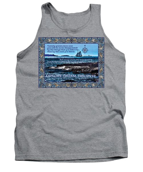 Celtic Explorer - Bluenose II In Halifax Harbour Tank Top