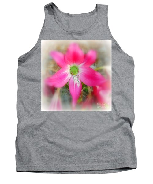 Center Attraction Tank Top by Myrna Bradshaw