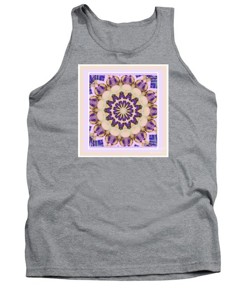 Center Of Passion Flower Tank Top