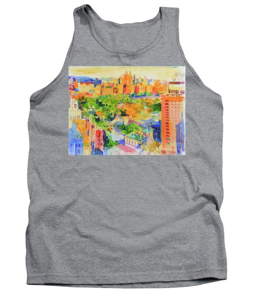 Central Park From The Carlyle Tank Top