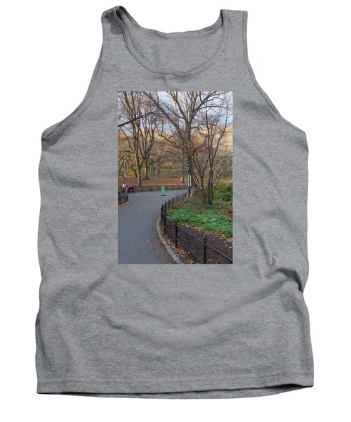 Tank Top featuring the photograph Central Park by Melinda Saminski