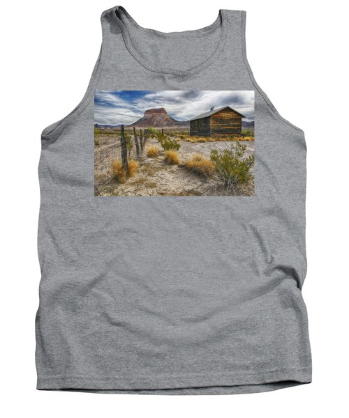 Cerro Castellan - Big Bend - Color Tank Top