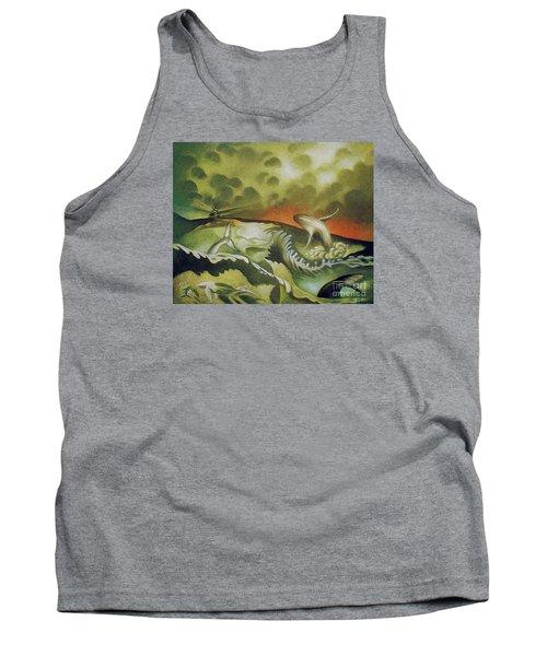 Cetacean Sunset Tank Top