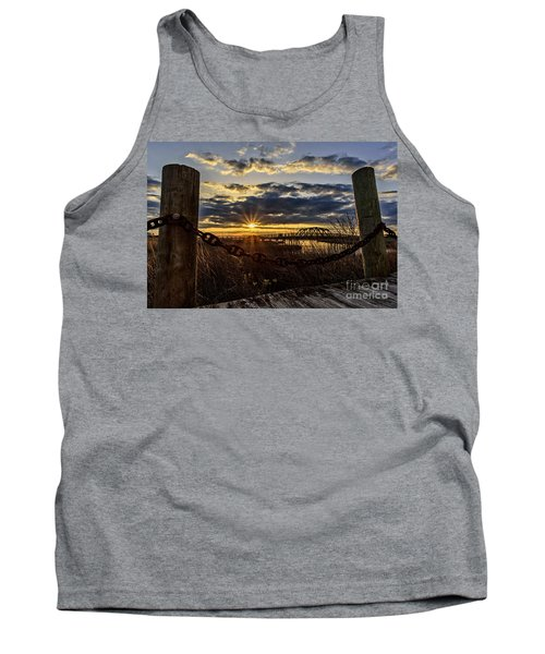 Chained View Tank Top