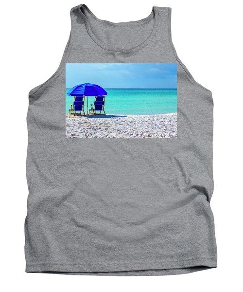 Beach Chair Pair Tank Top