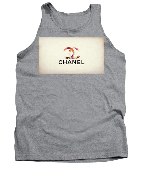 Chanel Floral Texture  Tank Top