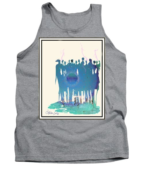 Women Chanting - Recharging The Earth Tank Top
