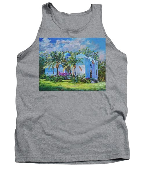 Chapel Of St. Panteleimon Tank Top by AnnaJo Vahle