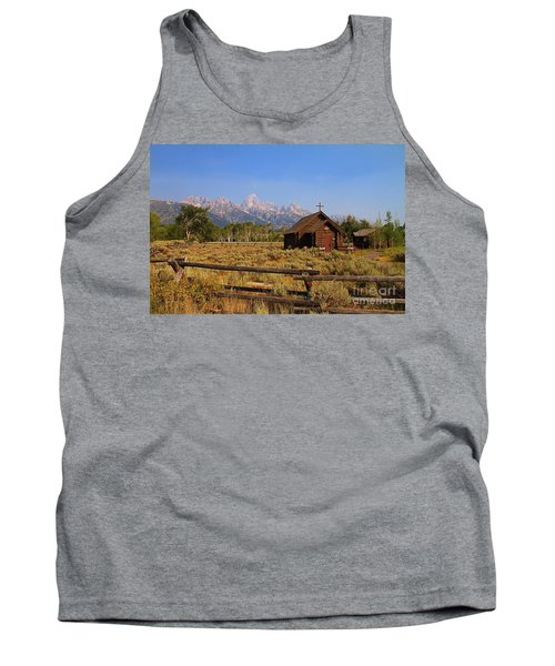 Chapel Of The Transfiguration Tank Top by Teresa Zieba