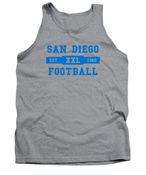 Chargers Retro Shirt Tank Top