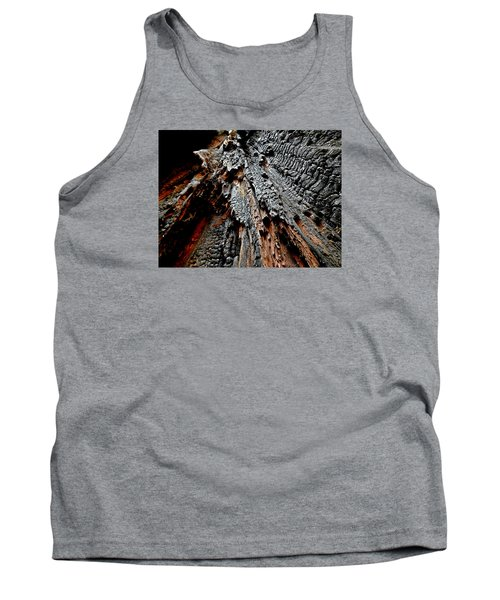 Charred Cedar Tank Top by Brian Chase