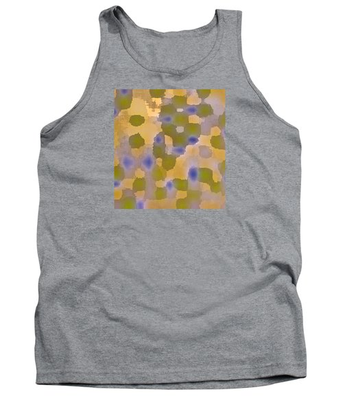 Chartreuse Two  By Rjfxx. Original Abstract Art Painting. Tank Top by RjFxx at beautifullart com