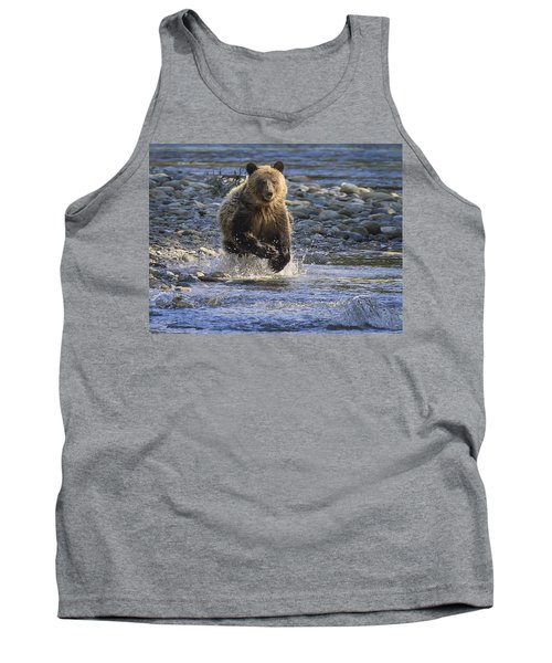 Chasing Salmon Tank Top