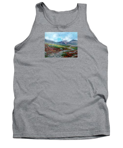 Chasm Lake Trail Tank Top by Jill Musser