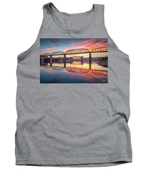 Chattanooga Sunset 5 Tank Top by Steven Llorca