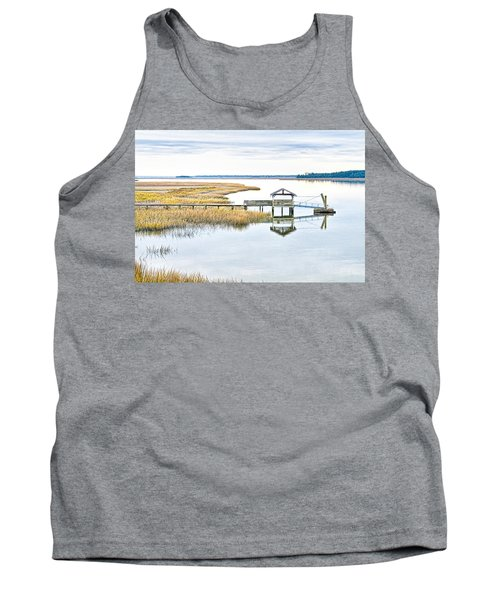 Chechessee Creek Dock Tank Top