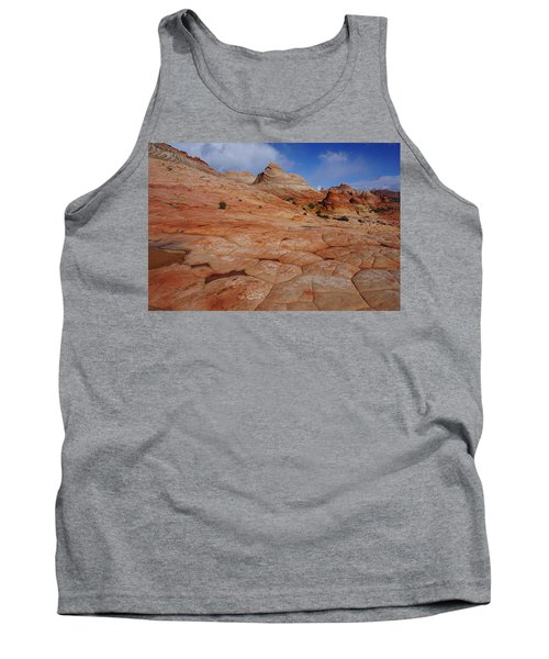 Checkered Red Rock Tank Top