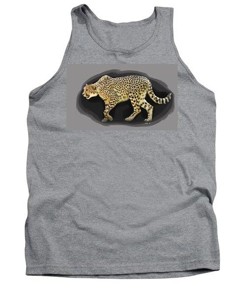 Cheetah 10 Tank Top