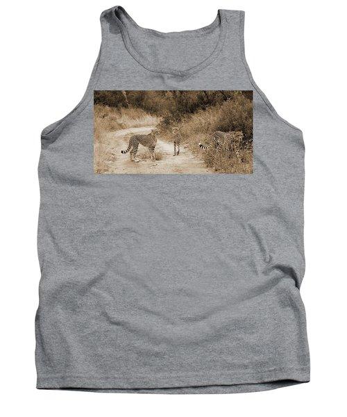 Cheetah Brothers Tank Top