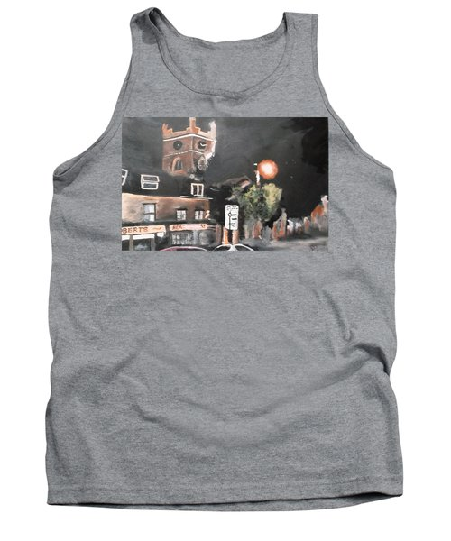 Chertsey At Night 2 Tank Top by Carole Robins