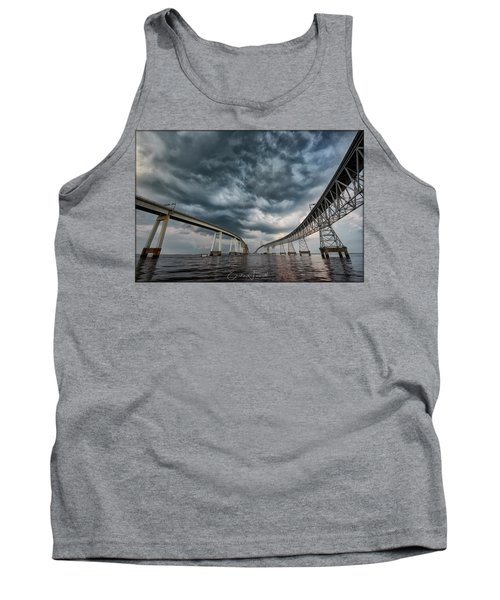 Chesapeake Bay Bridge Storm Tank Top