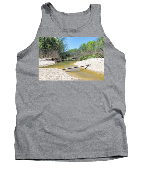 Tank Top featuring the photograph Chesapeake Tributary by Charles Kraus