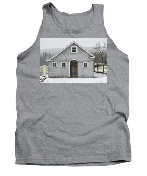 Chester County In The Snow Tank Top