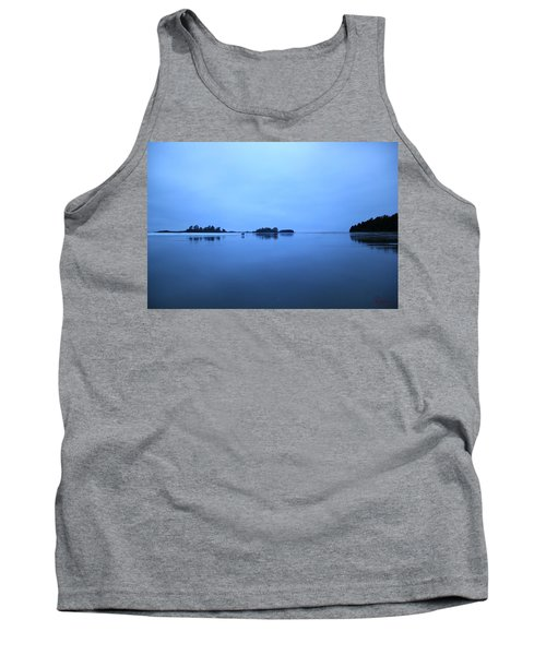 Chesterman Spatial Blues Tank Top