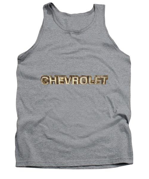 Chevrolet Chrome Emblem Tank Top