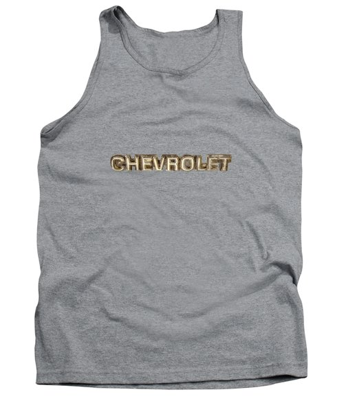 Chevrolet Chrome Emblem Tank Top