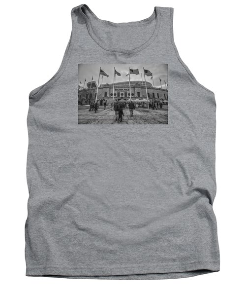 Chicago Bears Soldier Field Black White 7861 Tank Top
