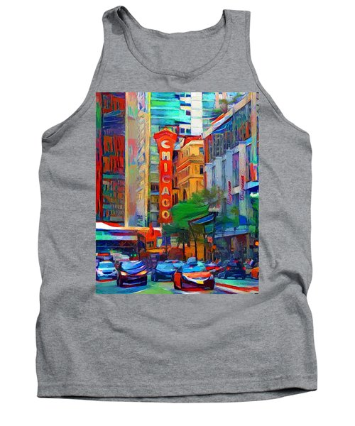 Chicago Colors 3 Tank Top