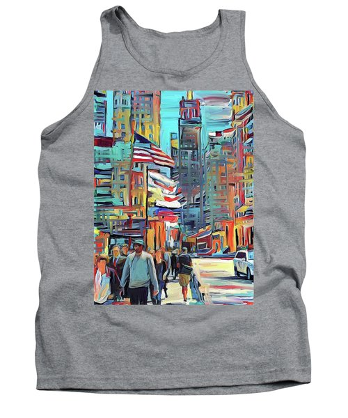 Chicago Colors 5 Tank Top