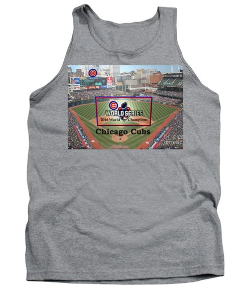 Chicago Cubs - 2016 World Series Champions Tank Top