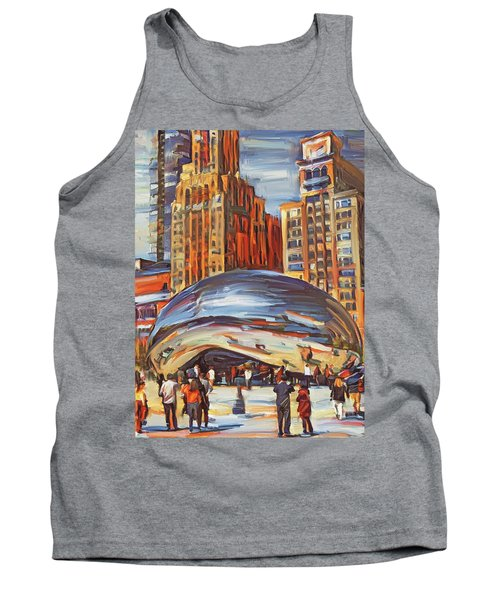 Chicago Millennium 2 Tank Top