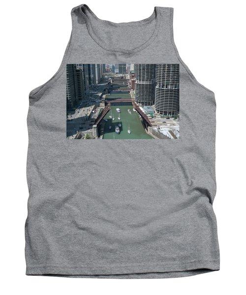 Chicago River Bridgelift Tank Top