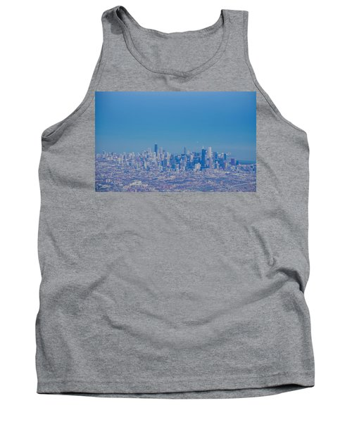 Chicago Skyline Aerial View Tank Top