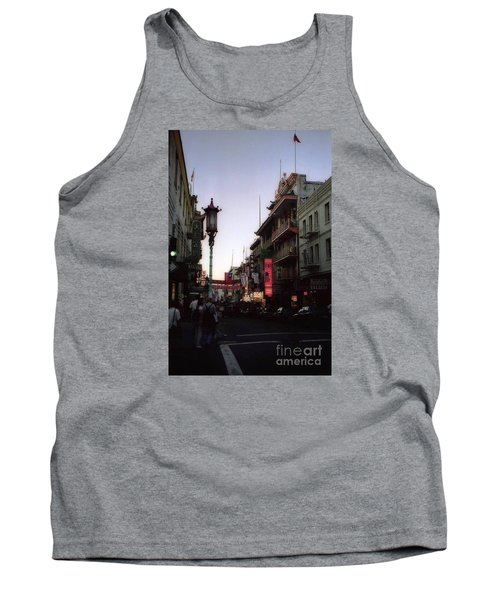 China Town San Francisco  Tank Top