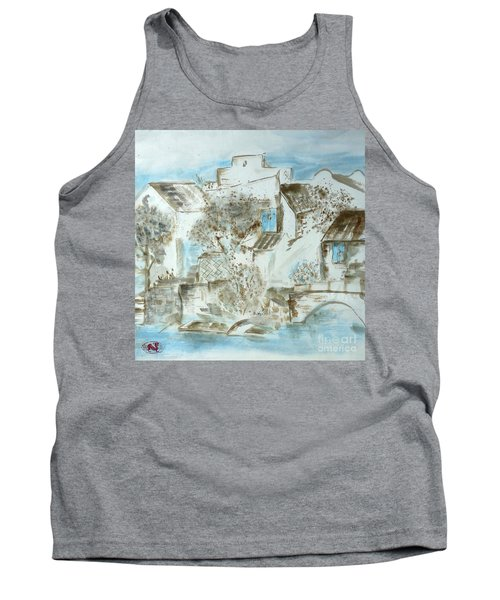 Chinese Water Town Tank Top