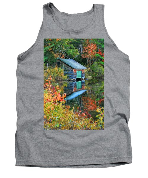 Chocorua Boathouse Tank Top