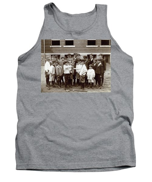 Choosing Baseball Teams Tank Top