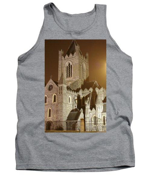 Christ Church Dublin Ireland Tank Top by Henri Irizarri