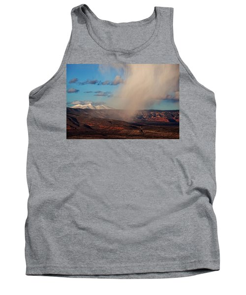 Christmas Day Snow Mix San Francisco Peaks Tank Top