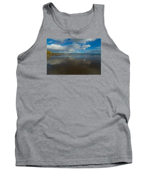 Tank Top featuring the photograph Christmas Eve Early Gifts by Lora Lee Chapman