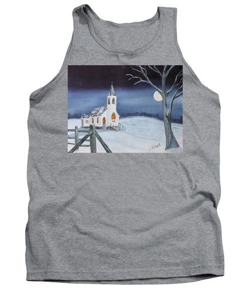 Christmas Eve Tank Top by Jack G Brauer