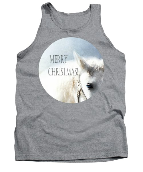Christmas Horse - Card Tank Top