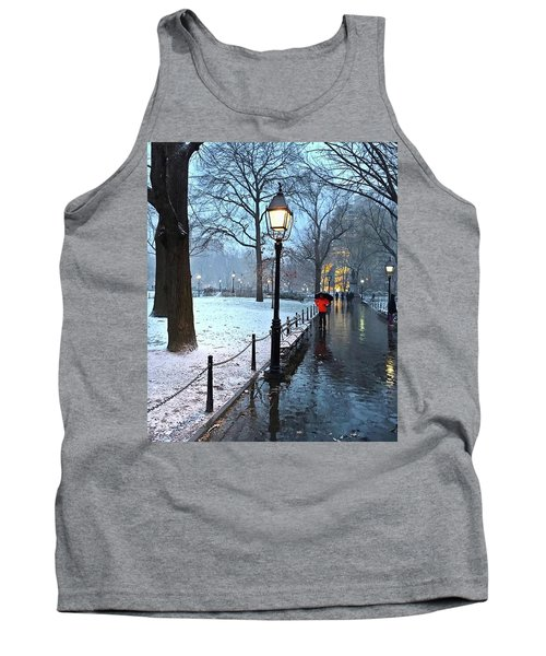 Christmas In Central Park Tank Top